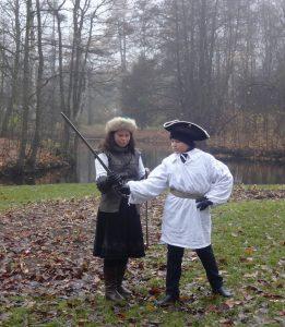 урок исторического фехтования