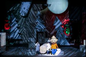 Сцена из спектакля Счастье, Александринский театр СПб