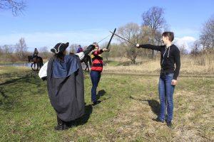 мастер классы по фехтованию на природе
