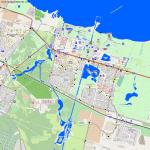 карта прудов Луговой парк Петергоф