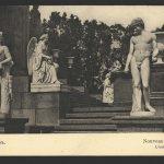 Дворец Бельведер: скульптуры