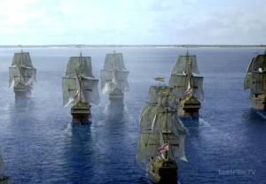кадр из фильма Черные паруса